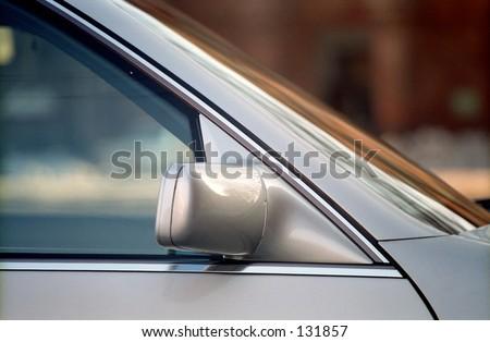 Beauty of Auto Detail - stock photo