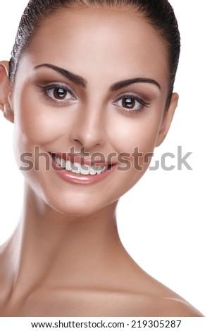 Beauty skin - stock photo
