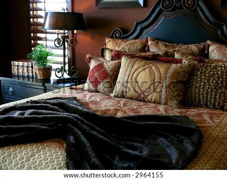 Bedrooms - stock photo