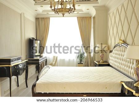 Bedrooms. interior. - stock photo