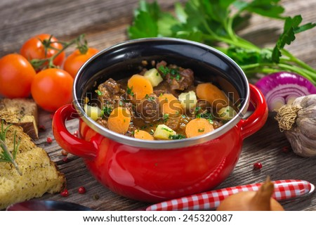 Beef Stew   - stock photo