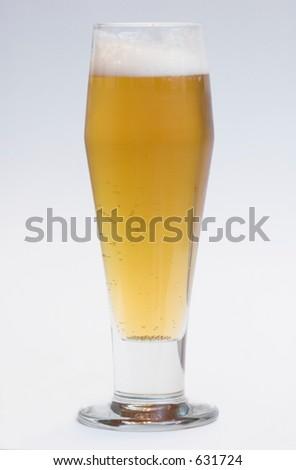 Beer in Beer glass - stock photo