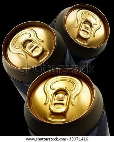 beer,metal - stock photo