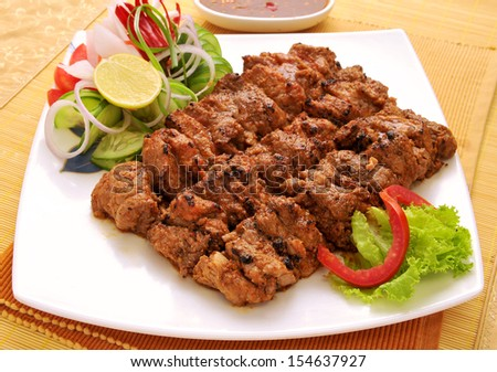 Behrai Kabab-8 - stock photo