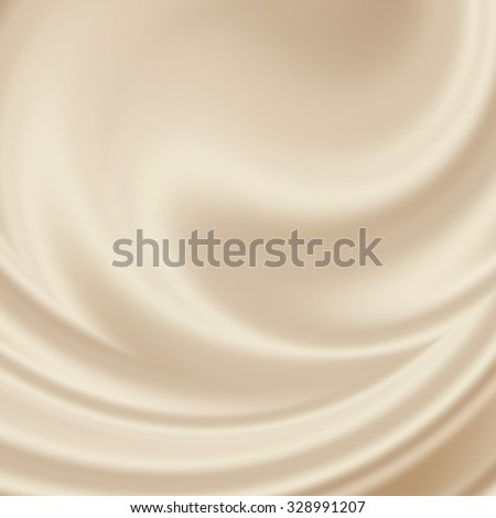 beige abstract satin texture - subtle wave pattern - stock photo