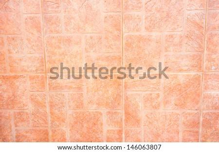 Beige and brown floor tiles  - stock photo
