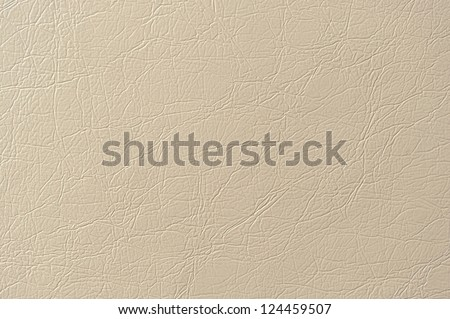 Beige Artificial Leather Background Texture - stock photo