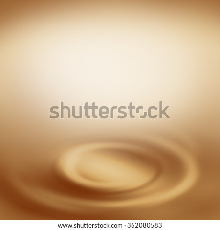 beige background abstract swirl background, creamy background with empty copy space  to white chocolate or milk and coffee advertising design template project - stock photo
