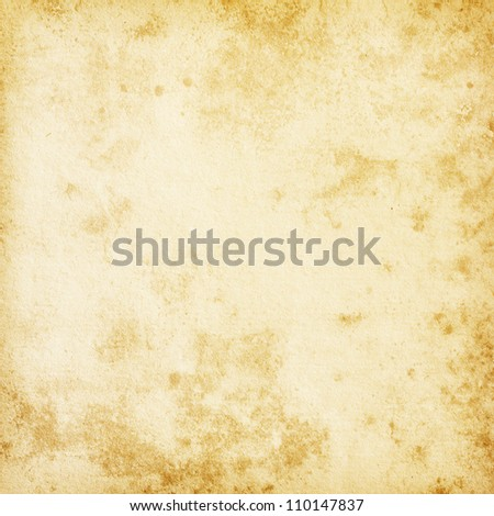 Beige background.  old paper - stock photo