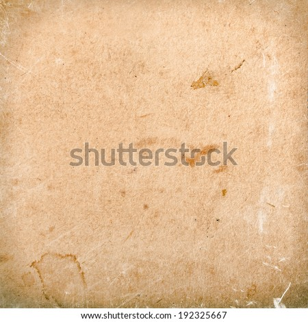 Beige background pattern canvas texture with delicate vignette, subtle background - stock photo