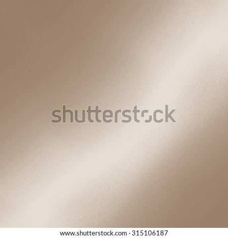 beige background smooth metal texture - stock photo