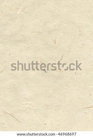 Beige blank handmade textured paper - stock photo