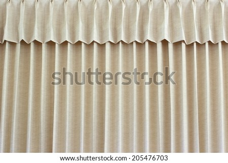 Beige blinds - stock photo