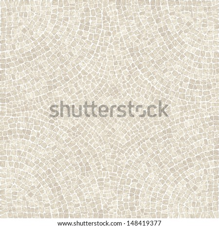 Beige marble mosaic texture. (High.Res.) - stock photo
