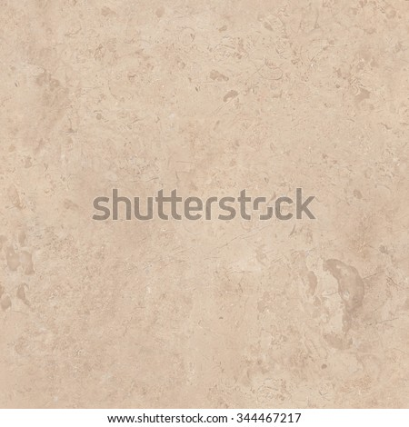 Beige marble natural stone texture background. Approximately 2 by 2 foot area. - stock photo