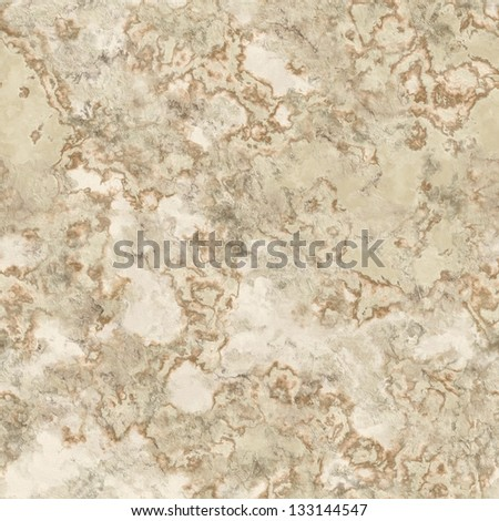 Beige marble seamless background - stock photo