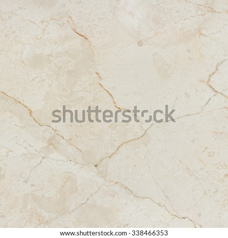Beige marble stone wall texture. Marble with natural pattern. - stock photo