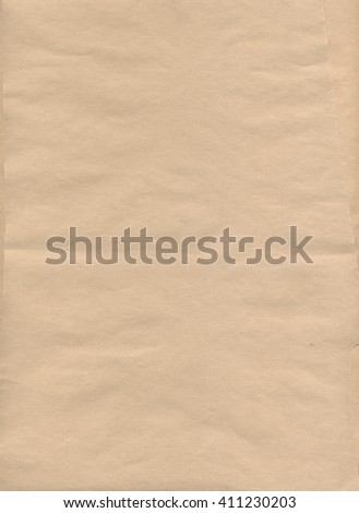 Beige paper texture background, scanned paper - stock photo