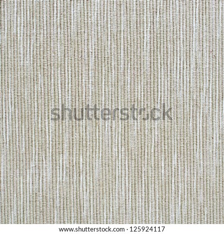 Beige striped fabric texture for background usage - stock photo