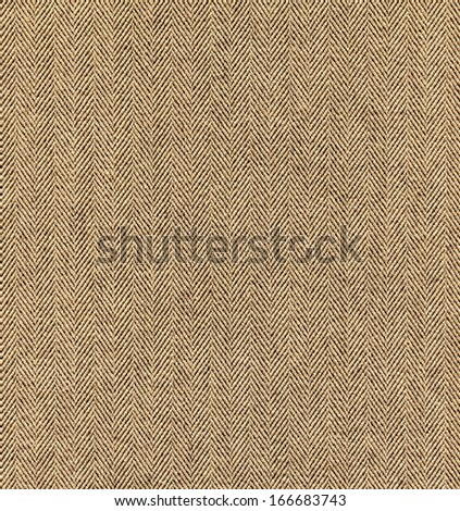 Beige tweed fabric texture as background - stock photo