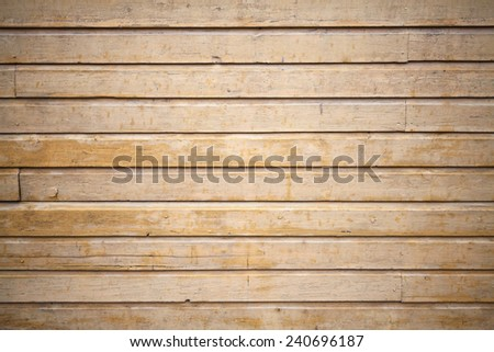 Beige wooden wall surface. Background photo texture - stock photo