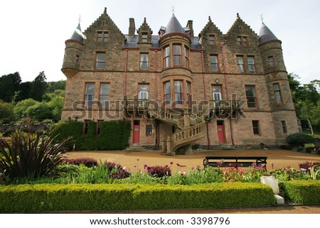 Belfast Castle, Belfast, Ireland - stock photo