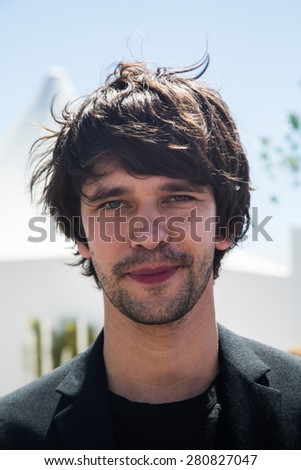 Ben Whishaw attend the 'Lobster' photo call during the 68th annual Cannes Film Festival on May 15, 2015 in Cannes, France. - stock photo