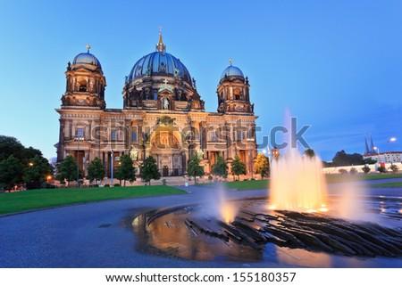 Berlin Cathedral (Berliner Dom) Berlin, Germany - stock photo