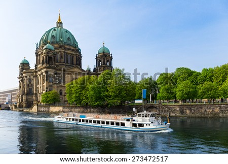 Berlin Cathedral, Germany - stock photo