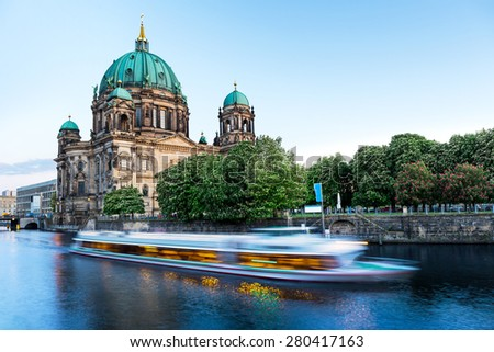 Berlin Cathedral on Museum Island, Germany - stock photo