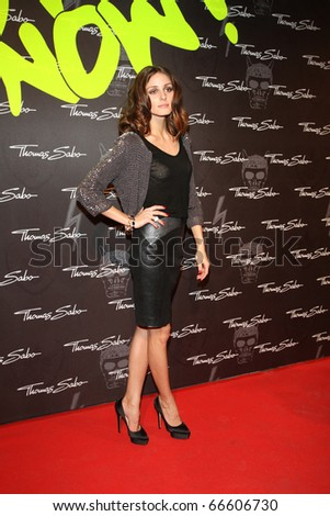 BERLIN - DECEMBER 02: Olivia Palermo attends the launch party for Thomas Sabo's  new Sterling Silver collection 2011 at the Soho House. December 2, 2010 in Berlin, Germany - stock photo