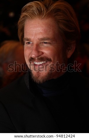 BERLIN, GERMANY - FEBRUARY 09: Matthew Modine attends the 'Les Adieux De La Reine' Premiere during of the 62nd Berlin Film Festival at the Berlinale Palast on February 9, 2012 in Berlin, Germany. - stock photo