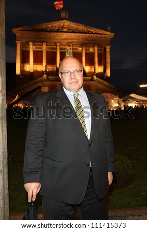 BERLIN, GERMANY - JULY 02:  German Environment Minister Peter Altmaier attends ZDF Summer Reception on July 2, 2012 in Berlin, Germany. - stock photo