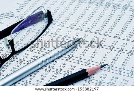 Best of business office related still life picture series - stock photo