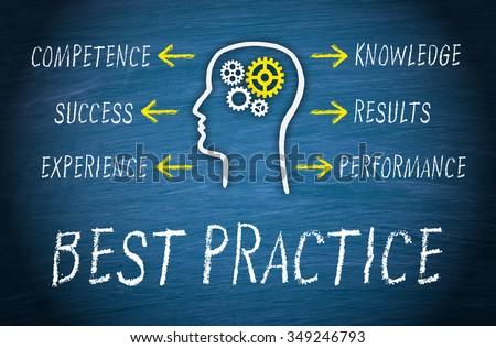 Best Practice Business Concept - stock photo