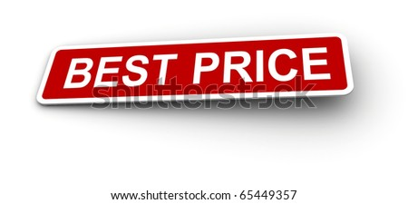 Best price labels. - stock photo