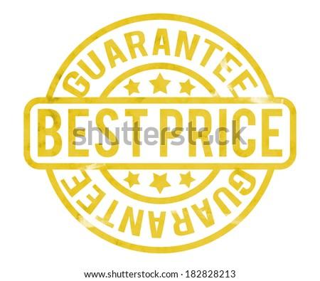 Best Price Stamp - stock photo