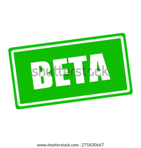 Beta Symbol Stock Photos Images Amp Pictures Shutterstock