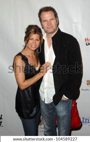 Beth Toussaint and Jack Coleman at the Hollyshorts Haiti Charity VIP Webisode Celebration. Kress, Hollywood, CA. 08-08-09 - stock photo