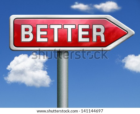 better price bargain sales or quality icon or button red road sign arrow - stock photo