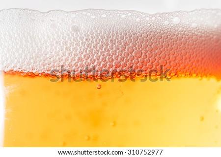 Beverage in glass - stock photo