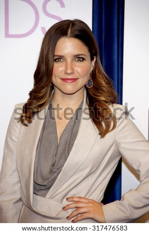 BEVERLY HILLS, CA - NOVEMBER 15, 2012: Sophia Bush at the People's Choice Awards 2013 Nominations held at the Paley Center in Beverly Hills, USA on November 15, 2012. - stock photo
