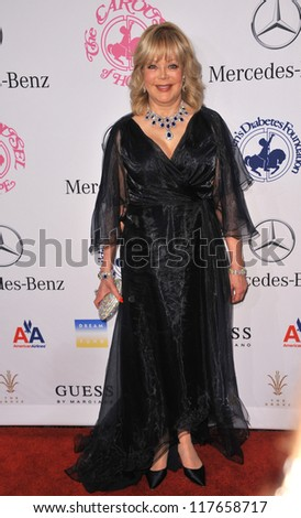 BEVERLY HILLS, CA - OCTOBER 20, 2012: Candy Spelling at the 26th Carousel of Hope Gala at the Beverly Hilton Hotel. - stock photo