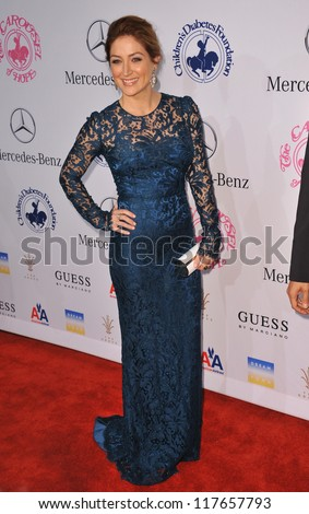 BEVERLY HILLS, CA - OCTOBER 20, 2012: Sasha Alexander at the 26th Carousel of Hope Gala at the Beverly Hilton Hotel. - stock photo