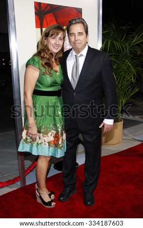 """BEVERLY HILLS, CALIFORNIA - November 15, 2011. Beau Bridges at the Los Angeles Premiere of """"The Descendants"""" held at the AMPAS Samuel Goldwyn Theater, Los Angeles.   - stock photo"""