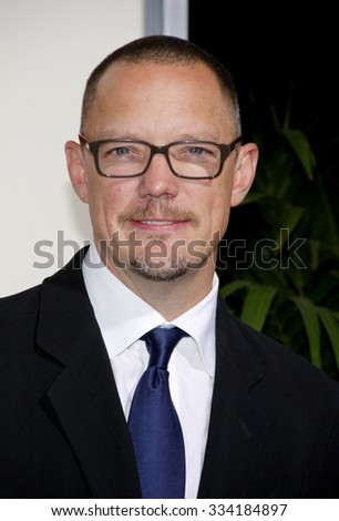 """BEVERLY HILLS, CALIFORNIA - November 15, 2011. Matthew Lillard at the Los Angeles Premiere of """"The Descendants"""" held at the AMPAS Samuel Goldwyn Theater, Los Angeles.  - stock photo"""