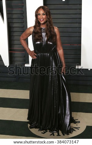 BEVERLY HILLS - FEB 28: Beverly Johnson at the 2016 Vanity Fair Oscar Party on February 28, 2016 in Beverly Hills, California - stock photo