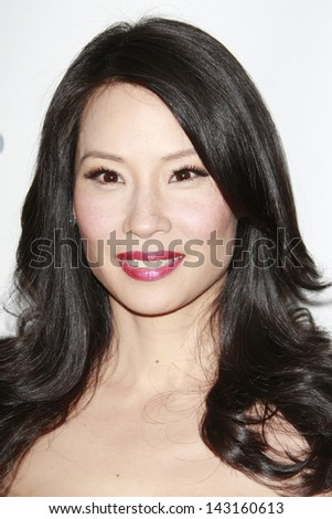 BEVERLY HILLS - JUL 12:  Lucy Liu at the Disney ABC Television Group Summer All Star party on July 12, 2008 in Beverly Hills, California. - stock photo