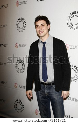 BEVERLY HILLS - MAR 12:  John Francis Daley arriving at the Paleyfest 2011 event honoring Freaks and Geeks/Undeclared in Beverly Hills, California on March 12, 2011. - stock photo