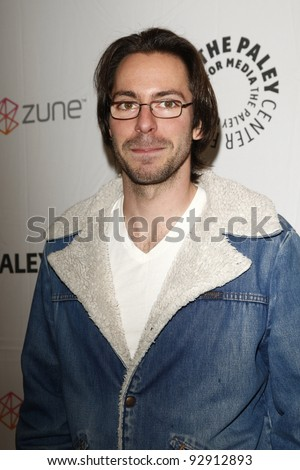 BEVERLY HILLS - MAR 12:  Martin Starr arriving at the Paleyfest 2011 event honoring Freaks and Geeks/Undeclared in Beverly Hills, California on March 12, 2011. - stock photo